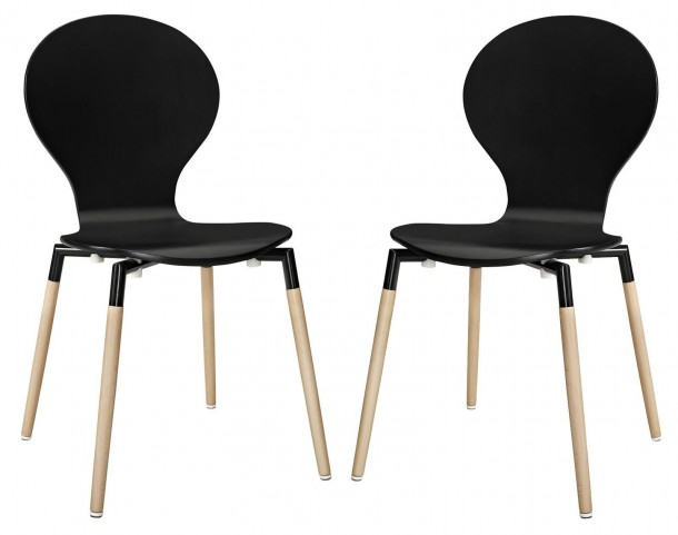 Path Black Dining Chair Set of 2