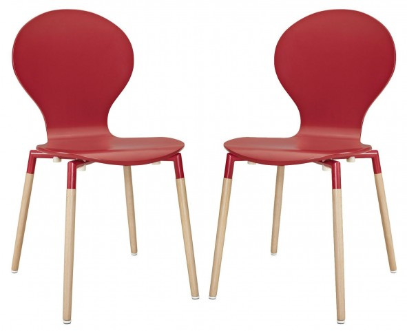 Path Red Dining Chair Set of 2