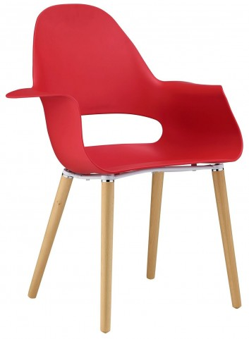 Soar Red Dining Armchair