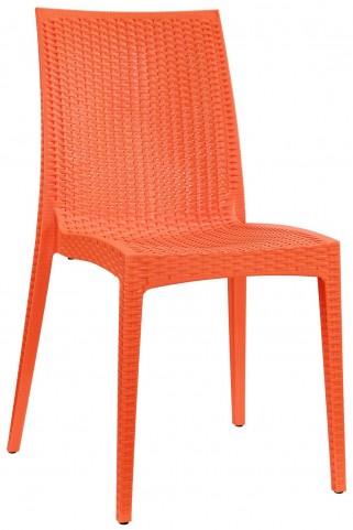 Intrepid Orange Dining Side Chair