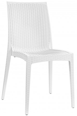 Intrepid White Dining Side Chair