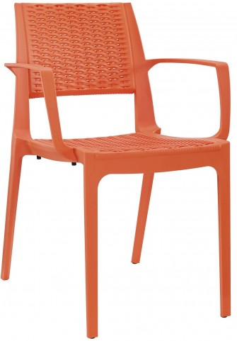 Astute Orange Dining Armchair