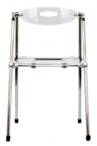 Telescoping Chair in Clear