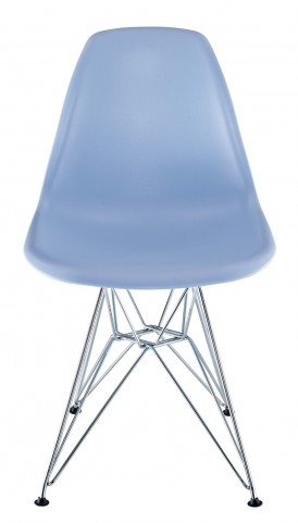 Paris Wire Side Chair in Blue