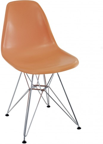 Paris Wire Side Chair in Orange