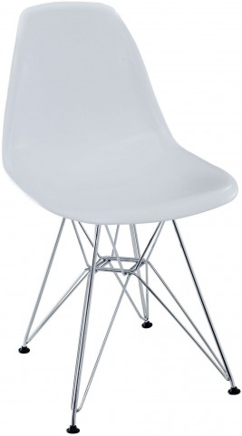 Paris Wire Side Chair in White