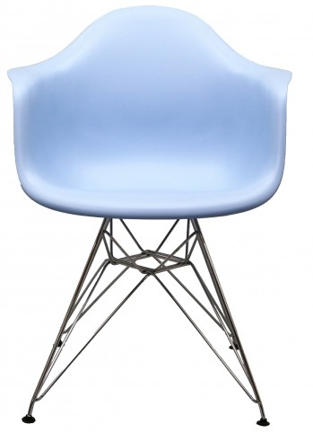 Paris Wire Armchair in Blue
