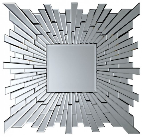 Stagger Silver Wall Mirror