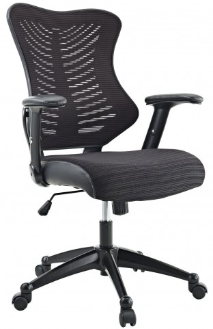 Clutch Black Office Chair