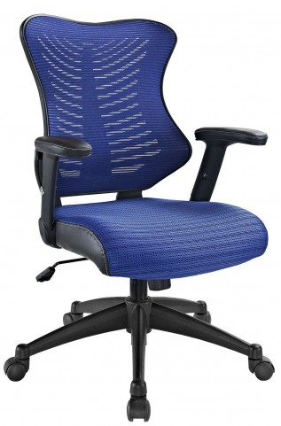 Clutch Blue Office Chair
