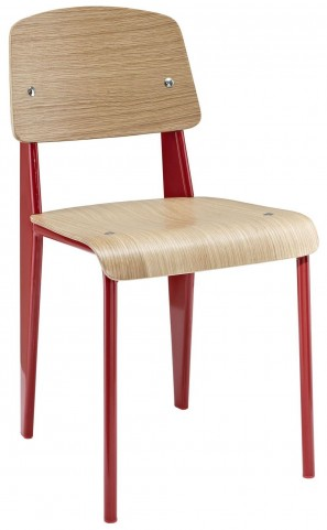 Cabin Natural Red Dining Side Chair