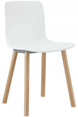 Sprung White Dining Side Chair