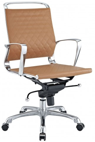 Vibe Tan Lowback Office Chair