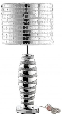 Sparkle Silver Table Lamp
