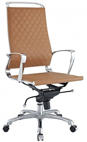 Vibe Tan Highback Office Chair
