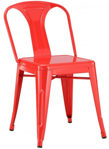 Promenade Red Dining Side Chair