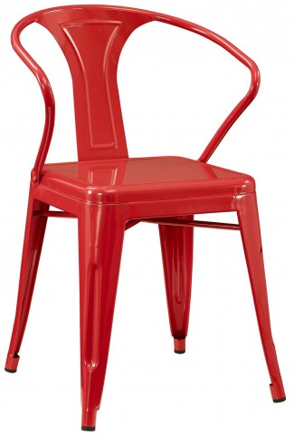 Promenade Red Dining Armchair