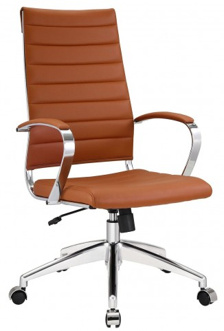 Jive Terracotta Highback Office Chair