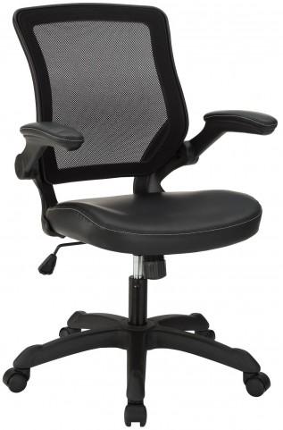 Veer Black Vinyl Office Chair