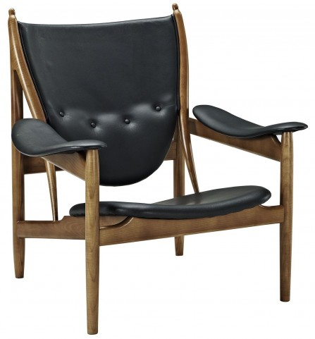Warrior Black Lounge Chair