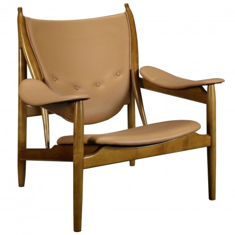 Warrior Tan Lounge Chair