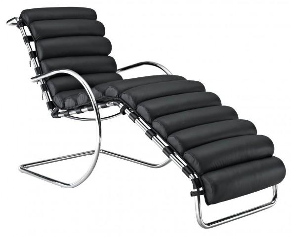 Ripple Black Chaise