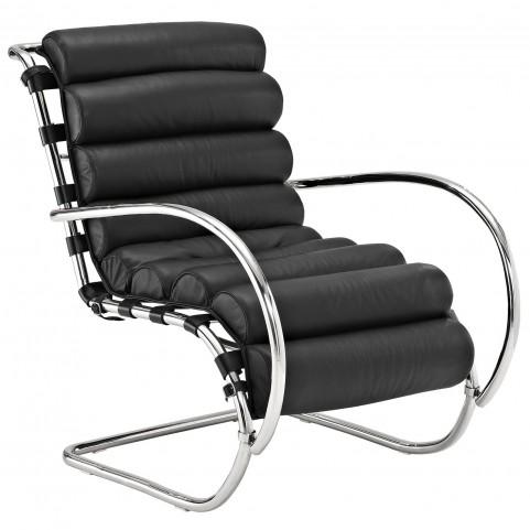 Ripple Black Lounge Chair