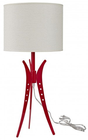 Flair White Table Lamp