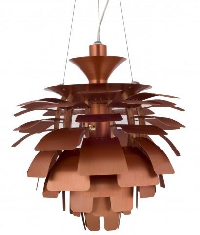 505-COP Petal Copper Lamp