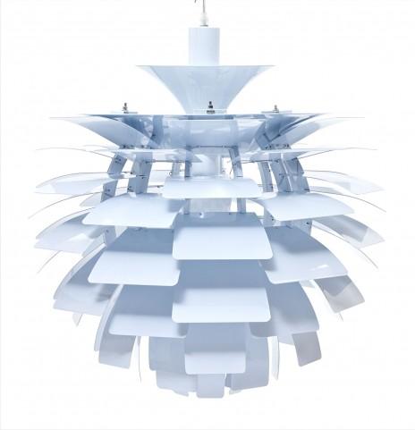 507-WHI Petal White Lamp