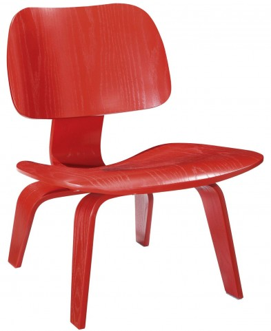 Fathom Red Lounge Chair