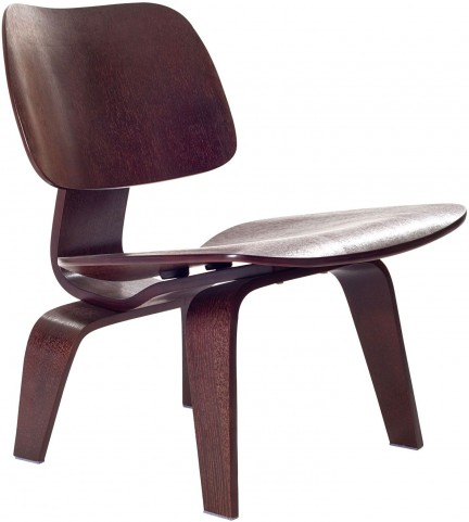 Plywood Lounge Wood Chair in Wenge