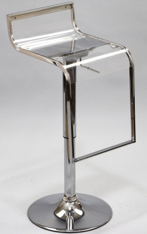 LEM Barstool with Acrylic Seat