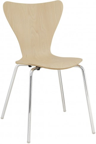 Ernie Chair in Natural Wood