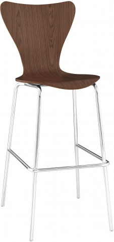 Ernie Barstool Chair in Walnut