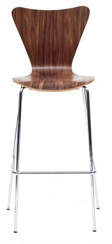 Ernie Barstool Chair in Walnut