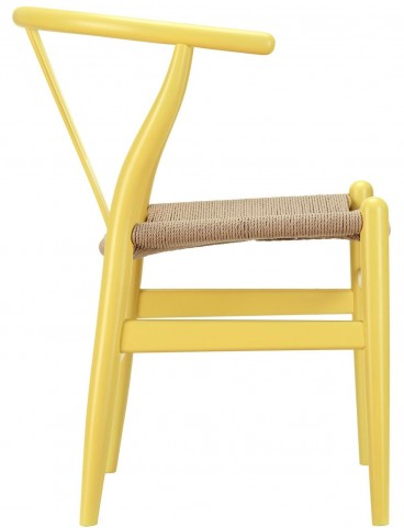 Amish Yellow Wood Armchair