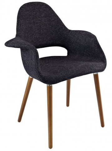 Aegis Black Dining Armchair