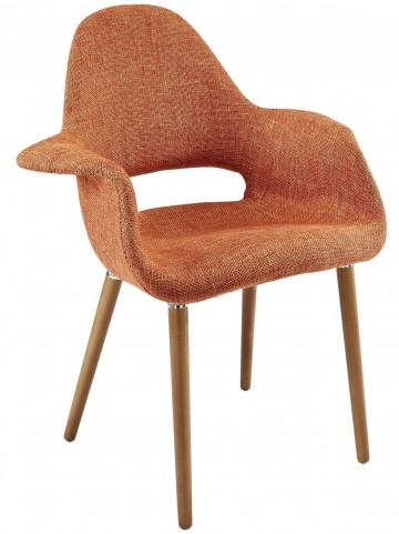 Aegis Orange Dining Armchair