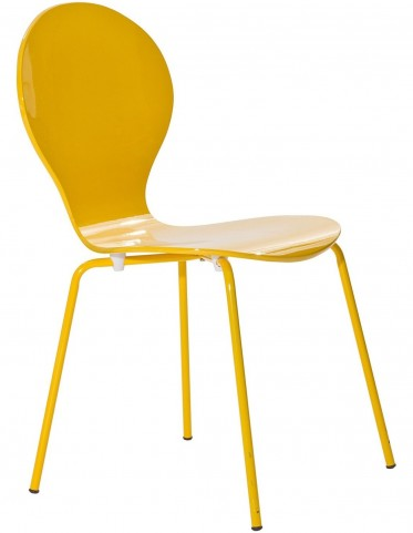 Insect Chair in Glossy Yellow