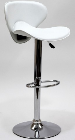 Booster Barstool in White