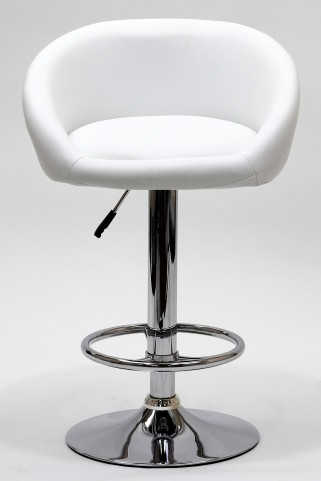 Marshmallow Barstool in White