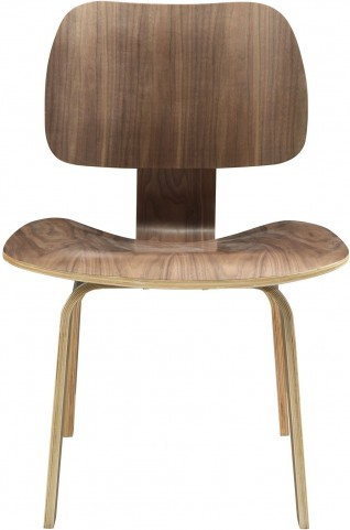 Fathom Plywood Dining Chair in Walnut