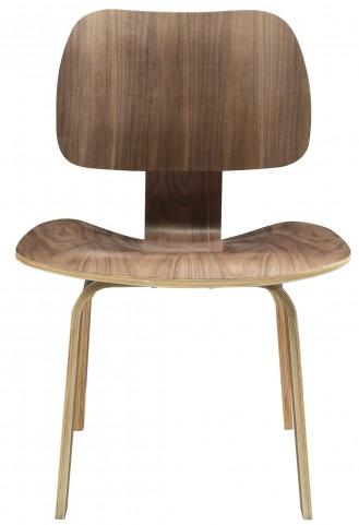 Fathom Plywood Dining Chair in Walnut
