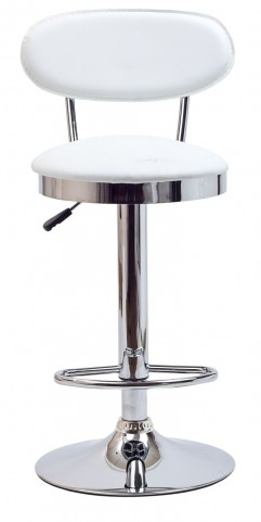 Retro Barstool in White