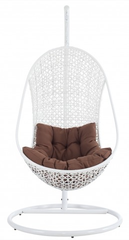 The Bestow Rattan Outdoor Patio Swing Chair