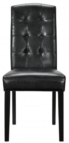 Perdure Black Dining Side Chair