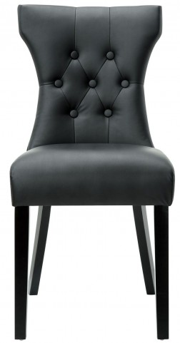 Silhouette Black Dining Side Chair