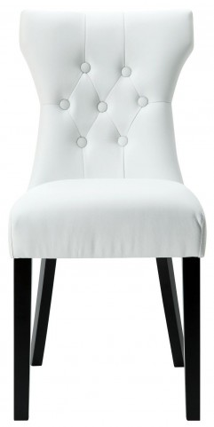 Silhouette White Dining Side Chair