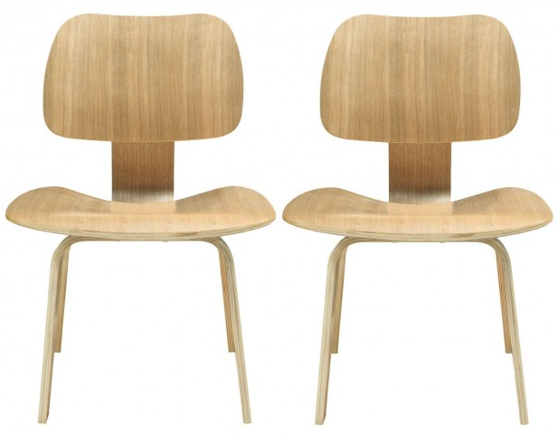 Fathom Natural Dining Chairs Set of 2